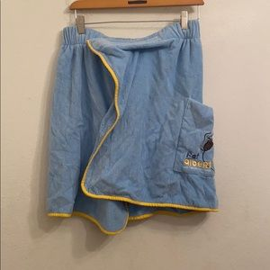 FUBU Fat Albert blue skirt one size fits all